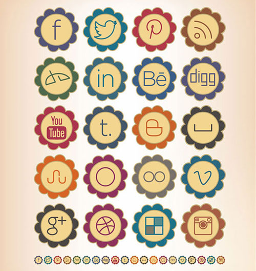 20-Free-Retro-Social-Media-Icons-Set-For-Preety-Girly-Blogs