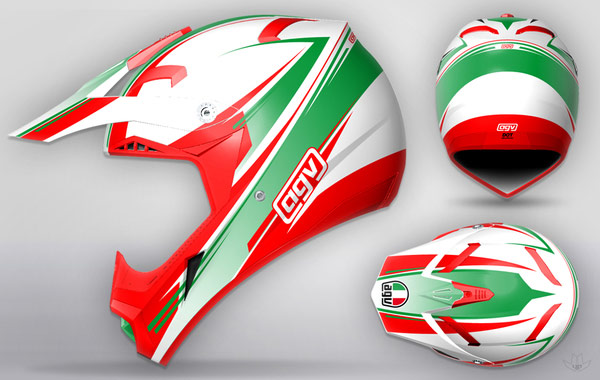 AGV-cool-motorcycle-Helmet-designs-1