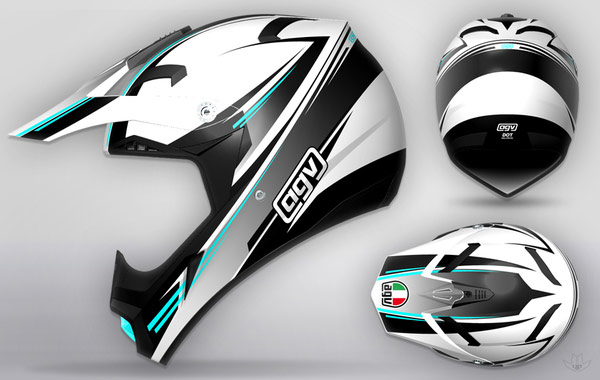 AGV-cool-motorcycle-Helmet-designs-5