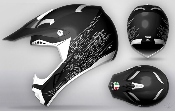AGV-cool-motorcycle-Helmet-designs-6