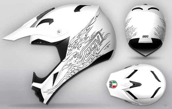 AGV-cool-motorcycle-Helmet-designs-7