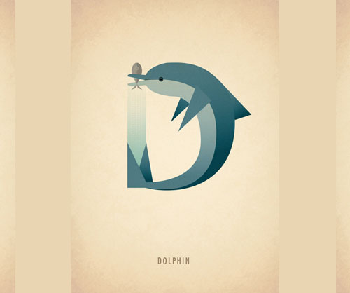 Amazing-Animal-Typography-Letter-d