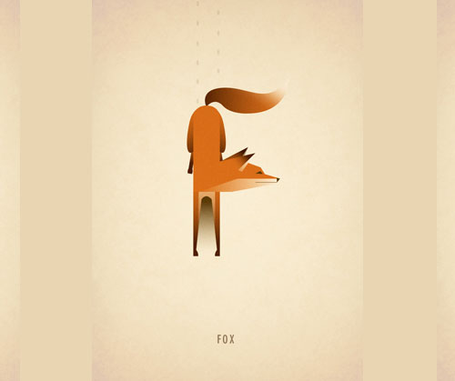 Amazing-Animal-Typography-Letter-f