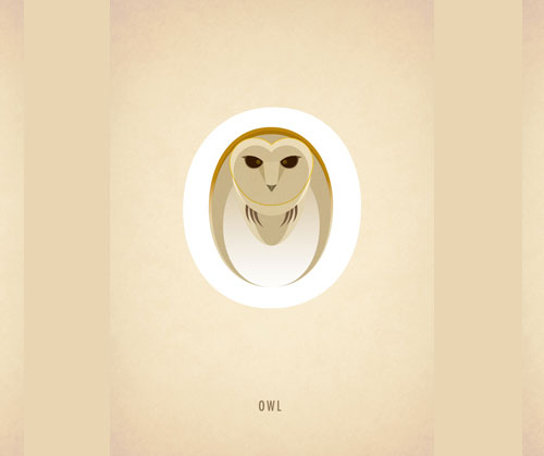 Amazing-Animal-Typography-Letter-o