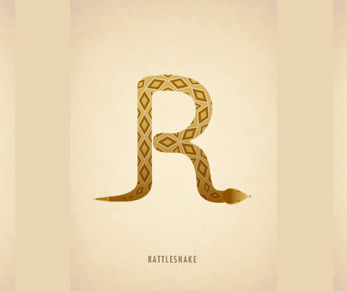 Amazing-Animal-Typography-Letter-r