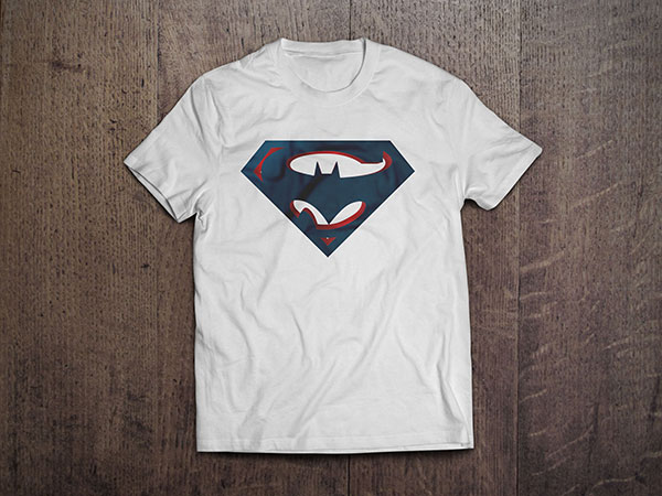 Batman-vs-superman-t-shirt-design