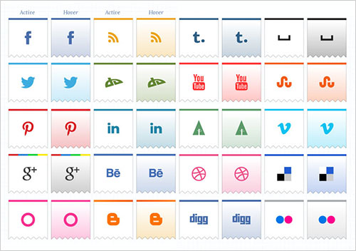 Beautiful-Ribbon-Social-Media-Icons
