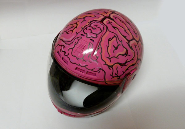 Brain-Creative-helmet-design