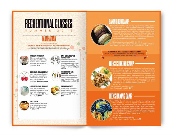 Brochure Design Ideas brochure design brochure design Ckca Summer Brochure Design 3