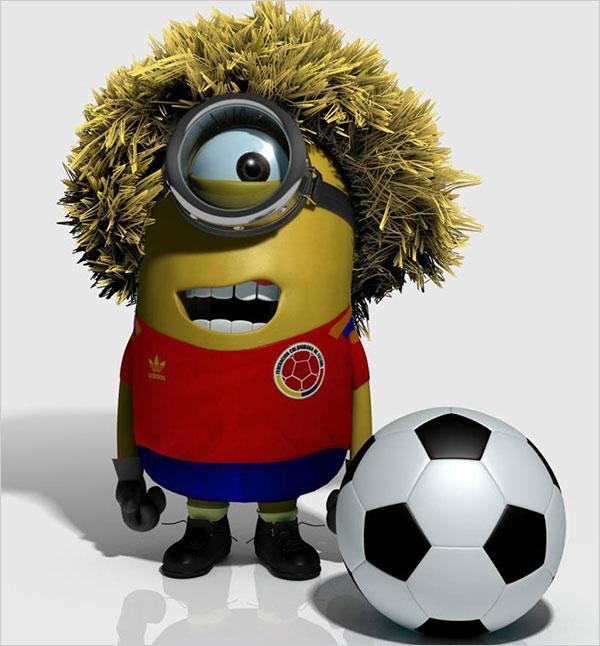 El pibe footballer Minion