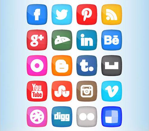 Fat-Social-Media-Icons