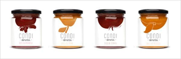 25 Sweet Jam Jar Labels & Packaging Design Ideas