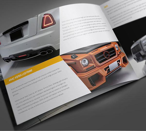 20 beautiful modern brochure design ideas for your 2014 for Automobile brochure design