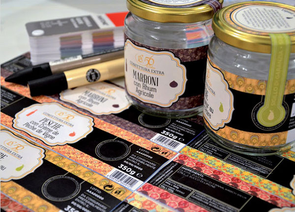Marroni-Jam-Jar-labels-&-Packaging