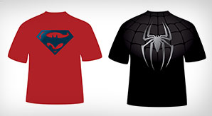 Marvel-Avengers-&-DC-Comics-Superheroes-T-shirt-Designs