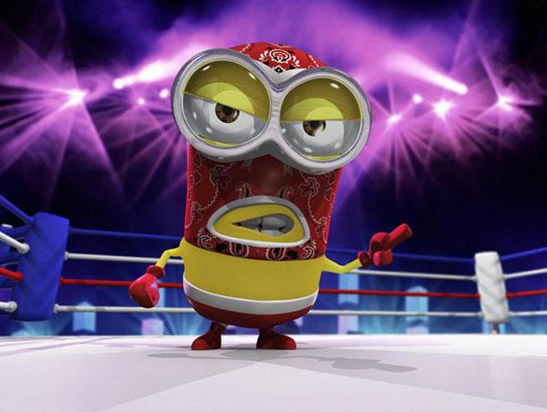 Minion-Luchador