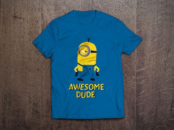 3 Despicable Me Vector Minion T-Shirt Designs In (.ai ...