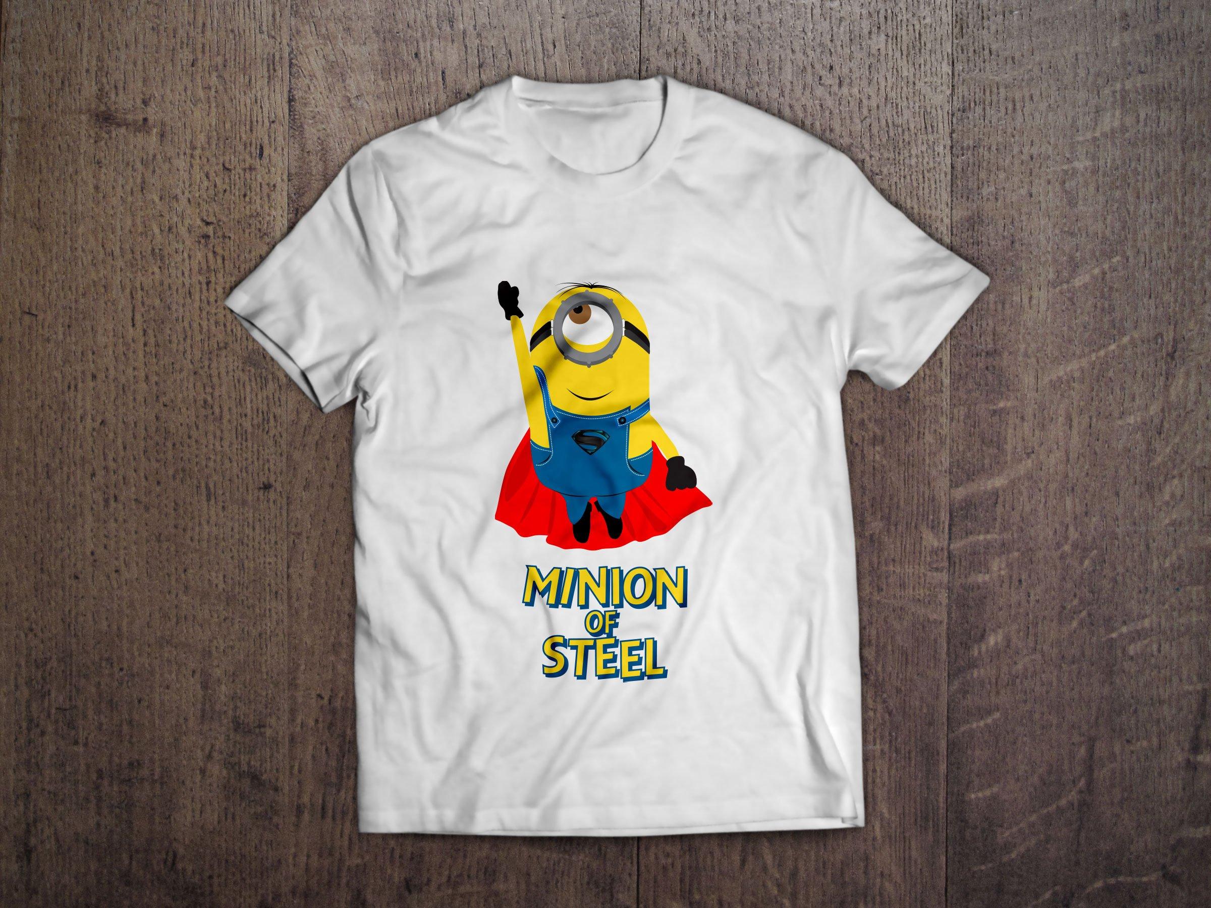 Shirt design eps -  Minion T Shirts Design 3
