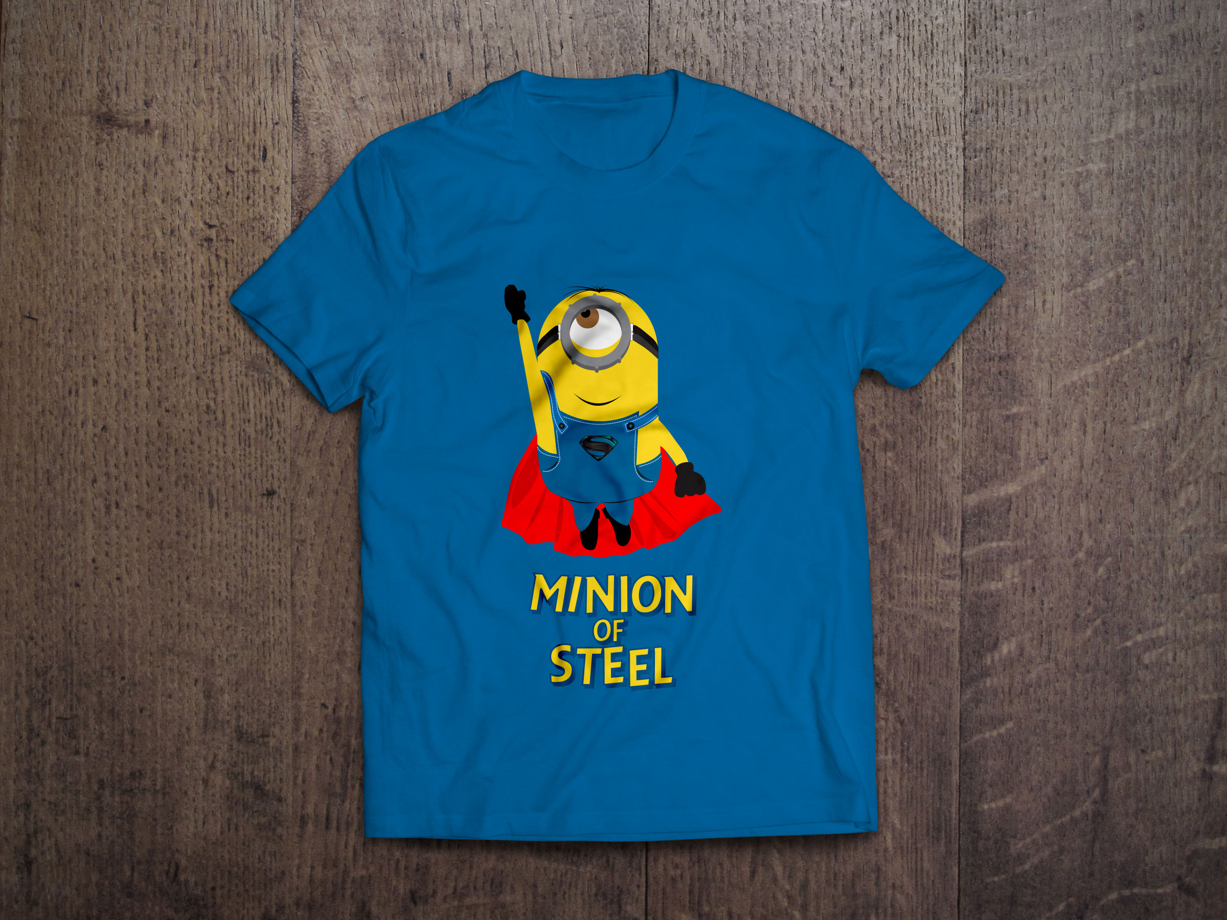 3 Despicable Me Vector Minion T-Shirt Designs In (.ai, .eps)