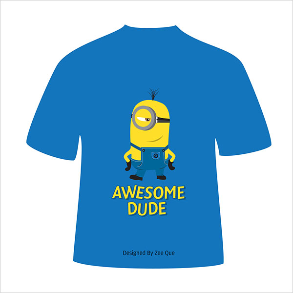 Despicable Me Minion-t-shirts-vector