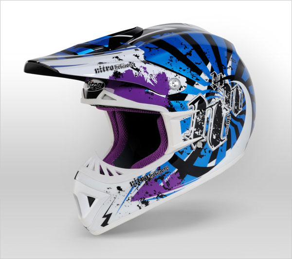 NITRO Bike Helmet design