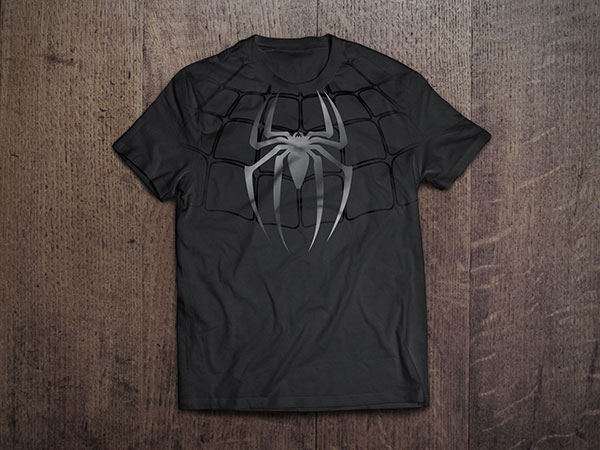 Spiderman-T-shirt-Design