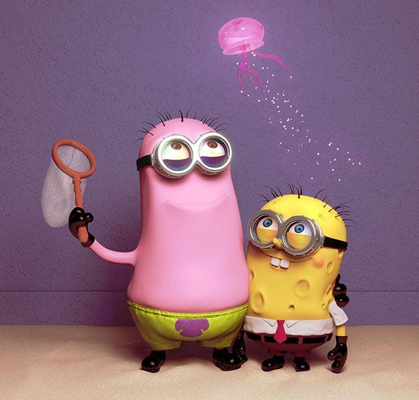 Sponge-and-Patrick-Minion