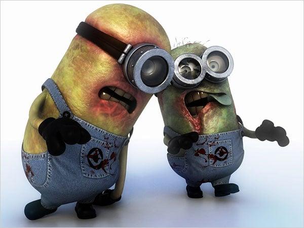 Zombie-Minions-Wallpaper
