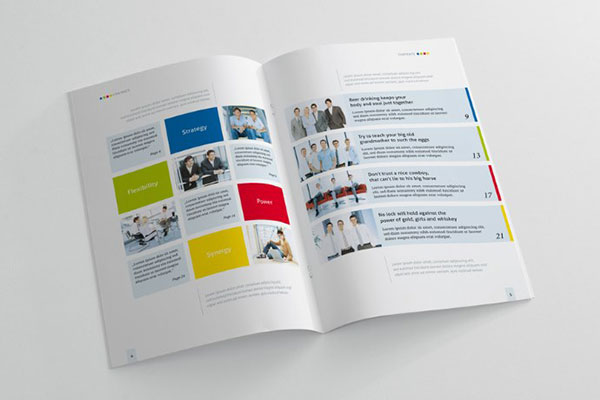 20 beautiful modern brochure design ideas for your 2014 for Brochure design layout ideas