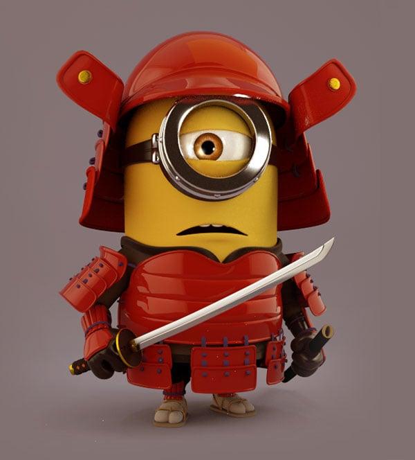 samurai-minion
