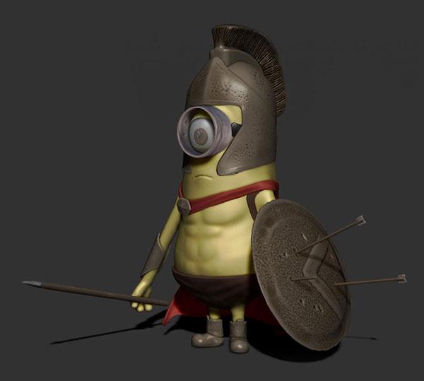 spartan-minion