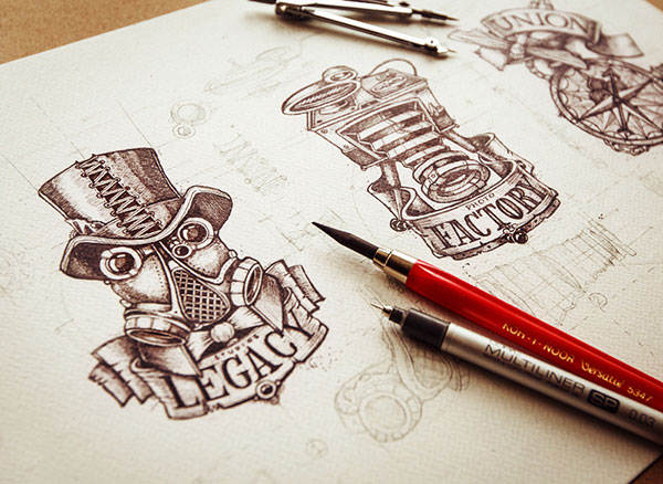 Amazing-logo-sketching-work-1