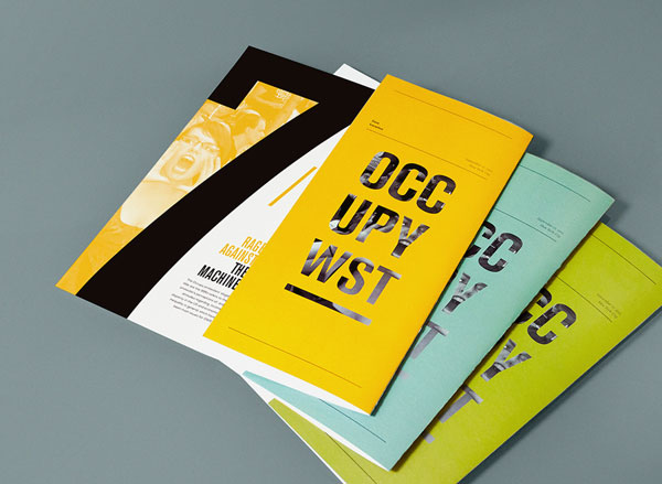 beautiful brochure design ideas for inspiration 1 - Booklet Design Ideas