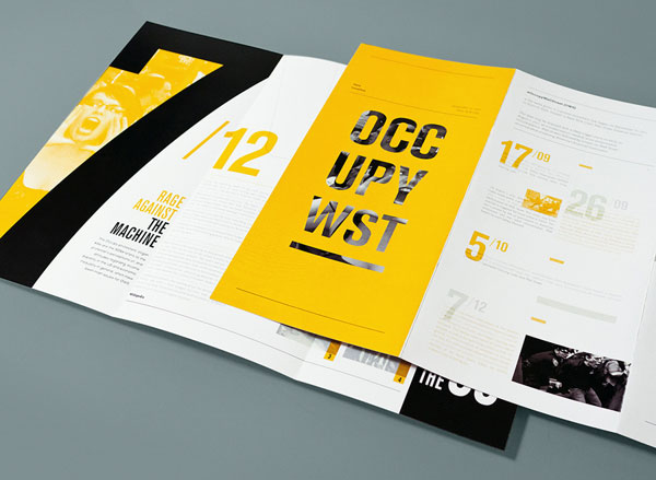 beautiful brochure design ideas for inspiration 2 - Booklet Design Ideas