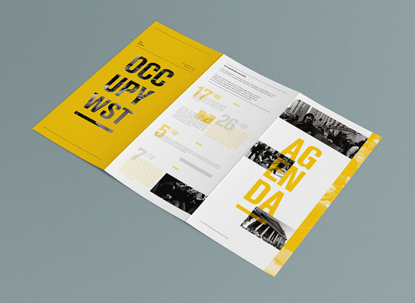 beautiful brochure design ideas for inspiration 3 - Booklet Design Ideas