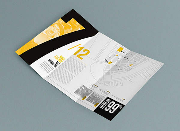 beautiful brochure design ideas for inspiration 4 - Booklet Design Ideas