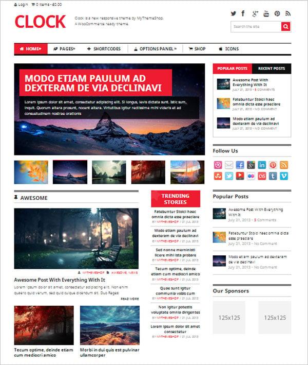 Clock-newspaper-magazine-WooCommerce-WordPress-theme