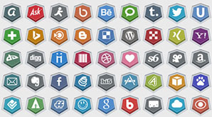 Embossed-Free-Social-Media-Icons-vector-ai-256-Pngs-f