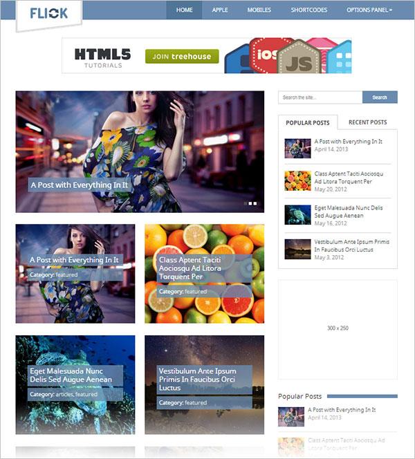 Flick-magazine-wordpress-theme