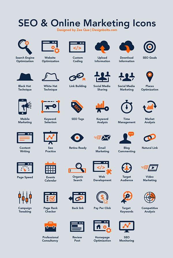 Free-Seo-&-Online-Marketing-Icons