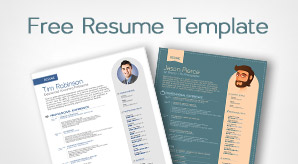 Free-Simple-Resume-template-in-vector-format