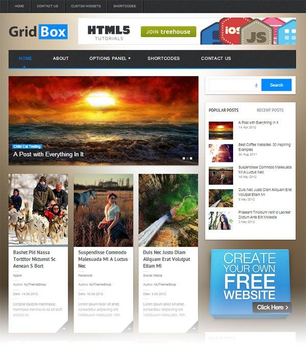 Gridbox-elegant-responsive-wordpress-theme