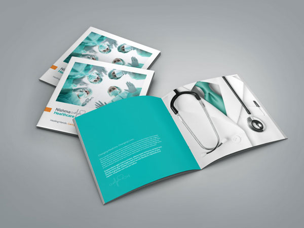 10 medical healthcare profile brochure
