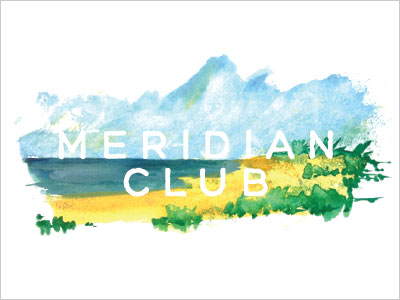 Meridian-Club-logo-design