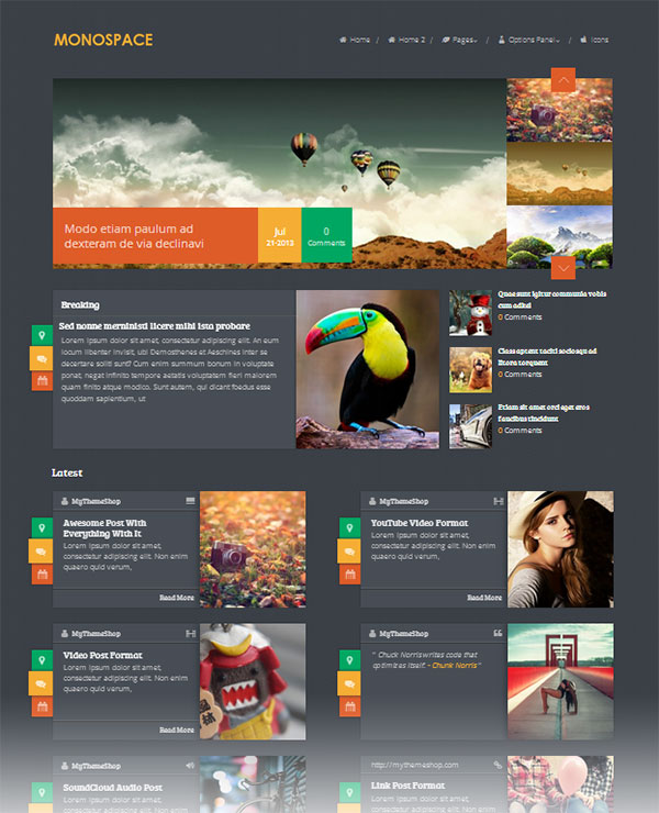 Monospace-Best-responsive-magazine-wordpress-theme
