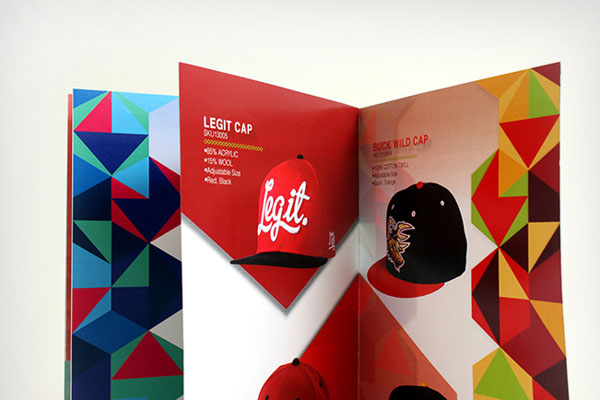 neff beautiful colorful brochure design ideas 2 - Booklet Design Ideas