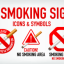 No-Smoking-Signs-Icons-&-Symbols-in-Vector-Ai-format