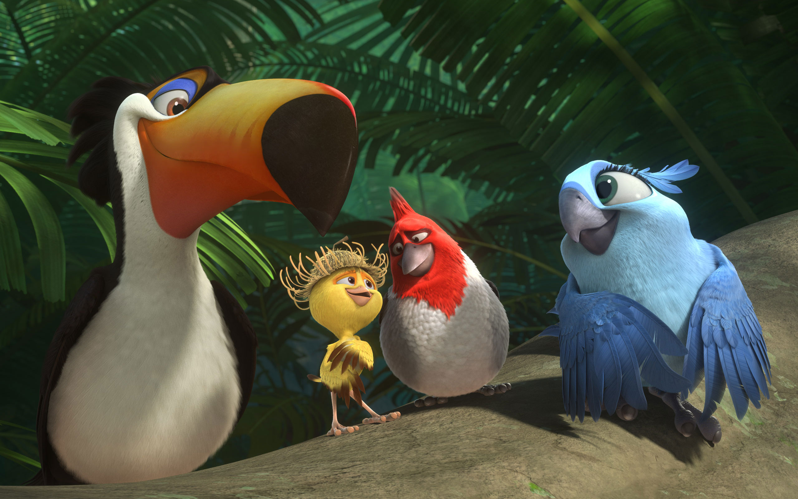 Rafael Nico Pedro Carla Wallpaper of Rio 21 Download film Rio 2 + Subtitle Indonesia