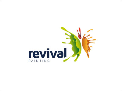Revival-painting-logo-design