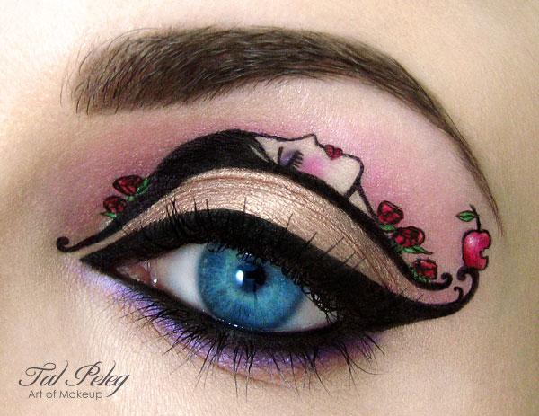 Snow-White-eye-make-up
